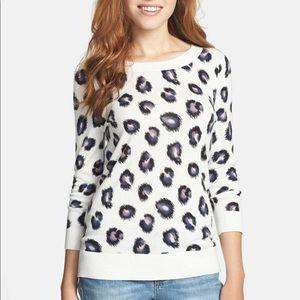Halogen Leopard Sweater